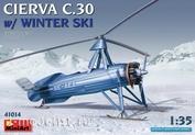 41014 MiniArt 1/35 Автожир CIERVA C.30 WITH WINTER SKI