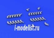 632050 Eduard 1/32 Дополнение для Do 335 exhaust stacks