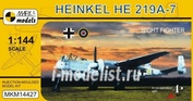 MKM14427 Mark I. model 1/144 Heinkel He 219A-7 Night Fighter