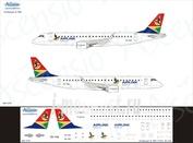 190-015 Ascensio 1/144 Декаль на самолет Embraer 190 (Air Link)
