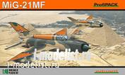 8231 Edward 1/48 MiG-21MF ProfiPACK
