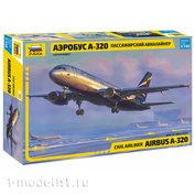7003 Zvezda 1/144 Passenger aircraft