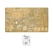 072263 Microdisign 1/72 photo etching Kit for the su-39 model from Zvezda
