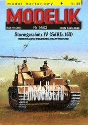 MD14/02 Modelik 1/25 SdKfz 163 StuG IV