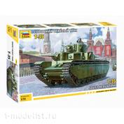 5061 Zvezda 1/72 Soviet heavy tank T-35