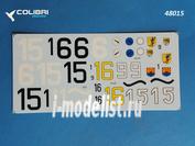 48015 ColibriDecals 1/48 Декаль для Fw-190 A3 JG 5