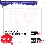 67013 ZIPmaket 1/72 mask set