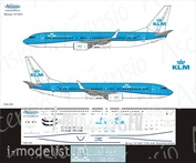 738-039 Ascensio 1/144 Scales the Decal on the plane Boeng 737-800 (KLM)
