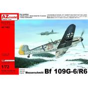 AZ7460 AZ Model 1/72 Messerschmitt Bf-109G-6/R6
