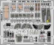 FE602 Eduard 1/48 Цветное фототравление для Me 410B-2/U-4 interior S.A.