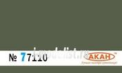 77110 Акан Краска водорастворимая FS: 34102 - Light Green основной цвет для морского камуфляжа; камуфляжной схемы
