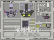 49254 Eduard 1/48 Фототравление для F-15C interior