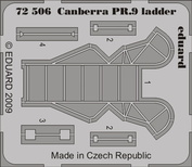 72506 Eduard 1/72 Фототравление для Canberra PR.9 ladder