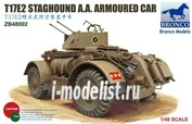 ZB48002 Bronco 1/48 T17E2 Staghound A.A.