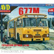4028AVD AVD Models 1/43 City Bus LIAZ-677M