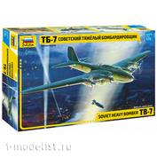 7291 Zvezda 1/72 Soviet bomber TB-7