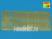 48 A06 Aber 1/48 Фототравление Rear large fuel tanks for T-34/76