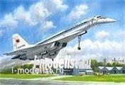 14402 ICM 1/144 Ту-144Д, Советский сверхзвуковой пассажирский самолет