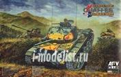 AF35209 AFV Club 1/35 M24 Chaffee Tank US Army Korean War