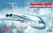 14405 ICM 1/144 Советский пассажирский самолет Ильюшин-62М