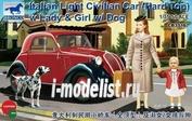 CB35167 Bronco 1/35 Italian Light Civilian Car (Hard Top)