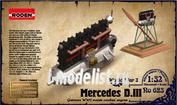 623 Roden 1/32 Двигатель Mercedes D.III