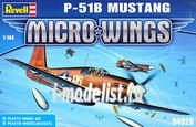 04928 Revell 1/144 P-51B Мустанг