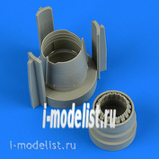 QB72 583 QuickBoost 1/72 Набор дополнений MiG-21MF Correct Exhaust Nozzle
