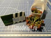 СМ021 СоюзМакет Придорожные растения цветущие (красные) 10 шт.