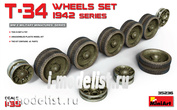 35236 MiniArt 1/35 Set of rollers for t-34 1942