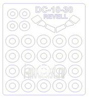 14321 KV Models 1/144 DC-10-30 + маски на диски и колёса