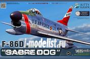 KH32007 KittyHawk 1/32 Самолет F-86D Sabre