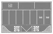 60720 Noch Парковка, цвет серый, 2 шт, 22-14 см