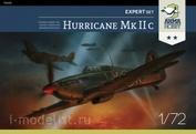 70035 ArmaHobby 1/72  Самолет Hurricane Mk IIc Expert Set