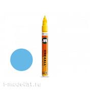 127217 Molotow Marker ONE4ALL 127HS #202 Light Blue 2mm