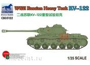 CB35122 Bronco 1/35 WWII Russian Heavy Tank KV-122