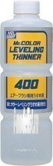 T108 Gunze Sangyo Разбавитель выравнивающий для акриловых красок на растворителе Mr. Color, 400 мл