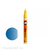 127502 marker one4all 127 hs-co metallic #224 blue 1.5 mm
