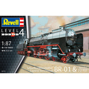 02172 Revell 1/87 Express Locomotive BR01 & Tender 2 '2' T32