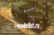 72010 IBG models 1/72 Polski FIAT 508/III Ambulance