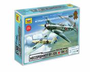 5201 Zvezda 1/72 Messerschmitt BF - 109 vs Yak-3