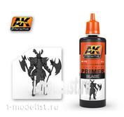 AK178 AK Interactive Primer black (BLACK PRIMER), 60 ml.