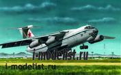 214479 Моделист 1/144 Военно-транспортный самолет Ильюшин Ил-76
