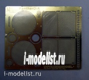 T35004 Мир Моделей 1/35 Фототравление для Panther D/A