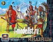 80021 Ark-models Индейцы, набор из восьми фигур
