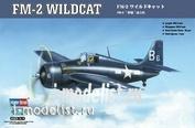 80330 HobbyBoss 1/48 Самолет Fm-2 Wildcat