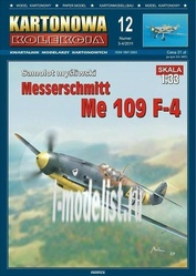 KK12 KARTONOWA KOLEKCJA 1/33 Me 109-F4