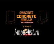 SPS-031 Meng 1/35 Precast Concrete Walls