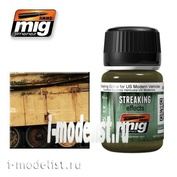 AMIG1207 Ammo Mig STREAKING GRIME FOR US MODERN VEHICLES (Streaks of dirt for the modern American technology)
