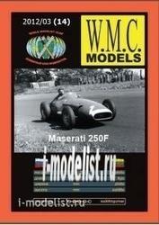 WMC-14 W.M.C. Models 1/25 Maserati 250F